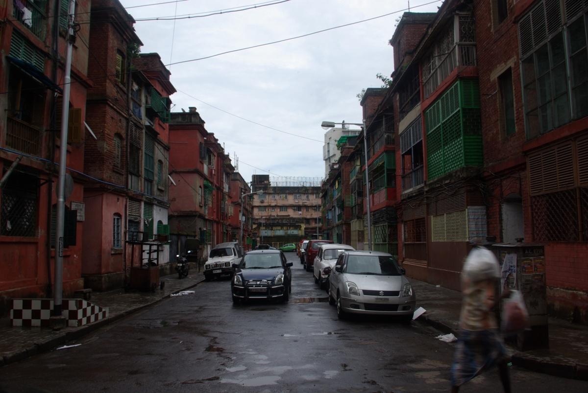 Jeden z (najładniejszych) placyków Chinatown w Kalkucie