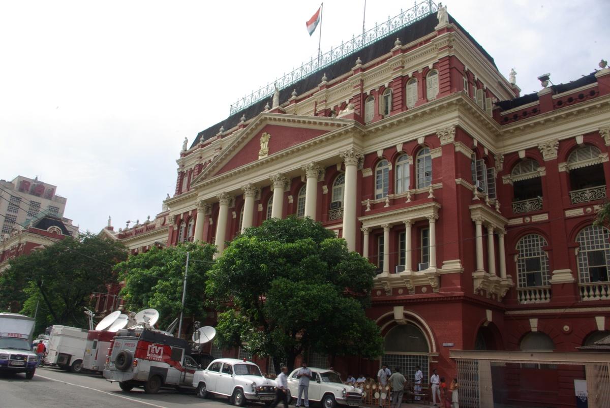 Budynek bodajże parlamentu Zachodniego Bengalu
