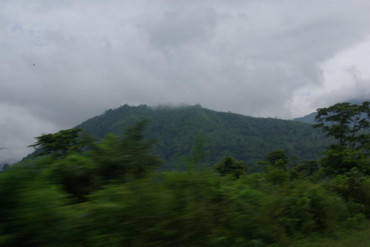 Wzgórza Zachodniego Bengalu, czyli w drodze do Darjeeling