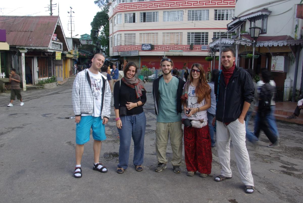 Grupowe foto niestety bez Belgijek. Od lewej: ja, Bea nr 1, Tim, Bea nr 2, Jarek