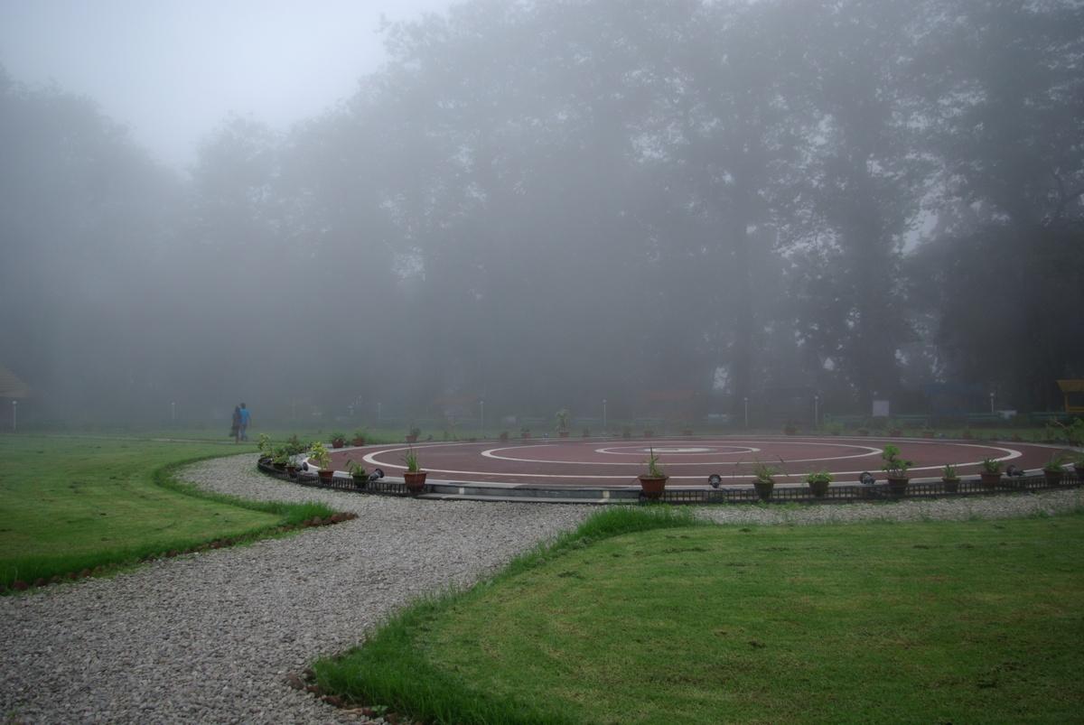 Główny plac Nightingale Park