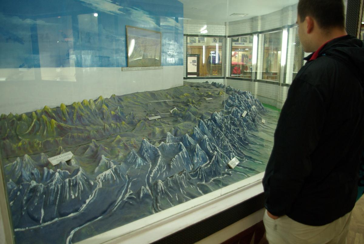 Makieta Himalajów