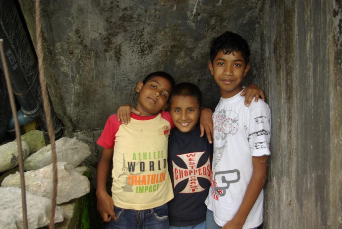 Chłopaki z górnego Kalimpong...