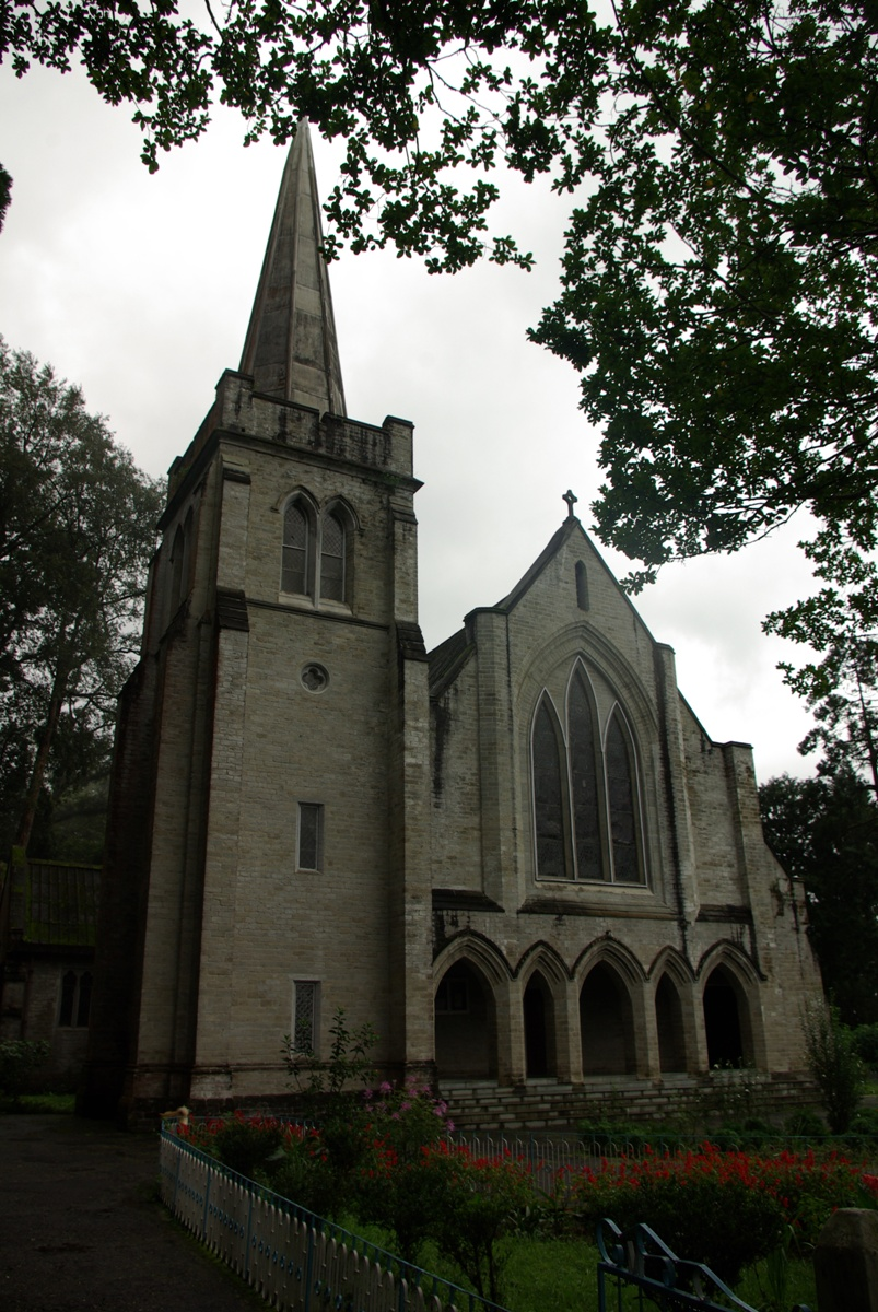 Kaplica w całej okazałości, niestety tylko z zewnątrz – była zamknięta :(