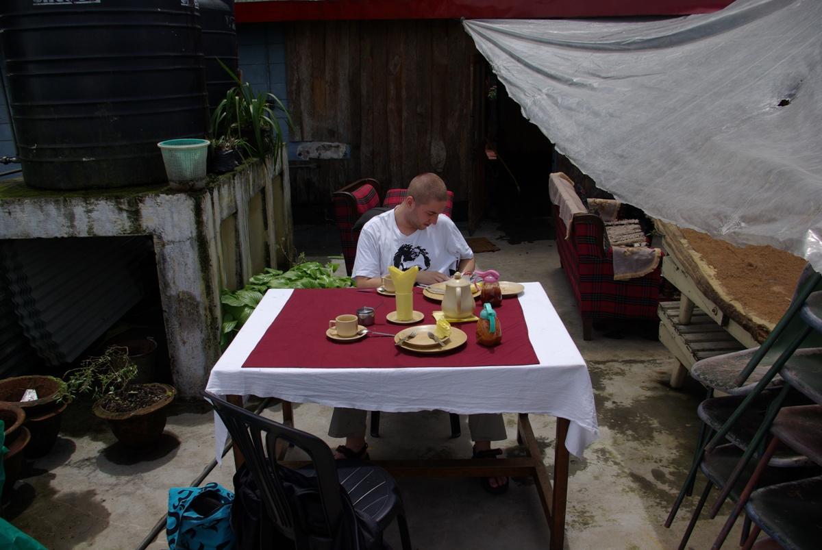 A to nasz stół, już po posiłku ;P