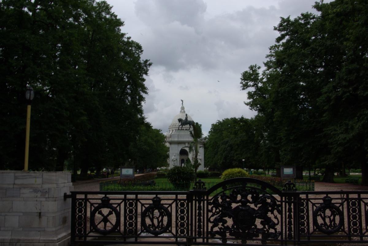 Victoria Monumental z oddali...